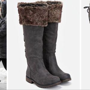JUSTFAB-Prajakta lace up boots